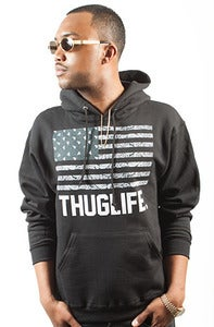 Image of Thuglife Hoodie Black Men's