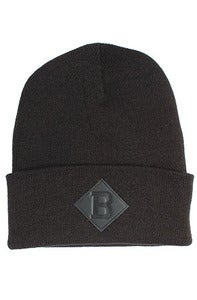 Image of Benson B Beanie Black