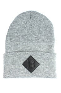 Image of Benson B Beanie Gray