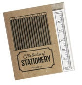 Image of Letterpressed Noteset - For The Love Of Stationery