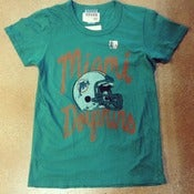 Image of Women's Junk Food Miami Dolphins Tee
