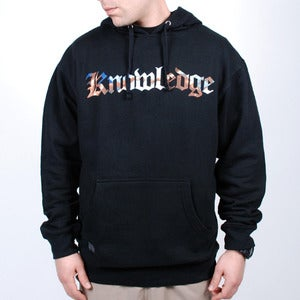 Image of Knowledge Hoodie (Black)