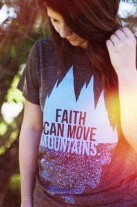 Image of Faith Can Move Mountains