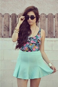 Image of Skater Skirt - Mint