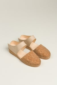 Image of Reality Studio Ana Mules in Nude - Pre-order