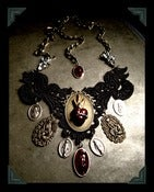 Image of Heretic Heart ♥ Lace Necklace~!