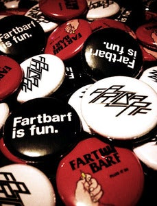 Image of Fartbarf Unholy Trinity Pin Pack