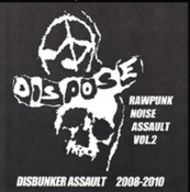 Image of  DISPOSE RAWPUNK NOISE ASSAULT VOL.2 CD‏