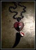 Image of The Black Horn Heart Relic~!