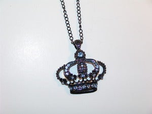 Image of Jeweled Crown Necklace