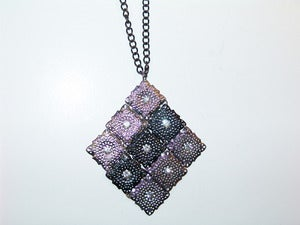Image of Diamond Mesh Necklace