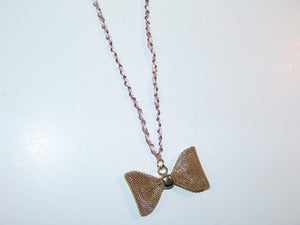 Image of Princess Bow Necklace
