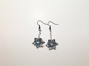 Image of Jeweled Flower Earrings