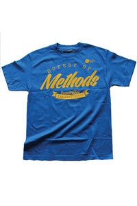 Image of Methods Tee : Royal