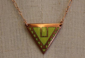 Image of Tryst Triangle Necklace