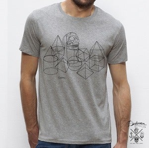 Image of T-shirt homme gris Disco King 
