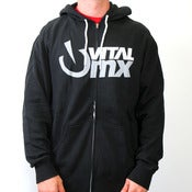 Image of Vents Logo Hoody, Black