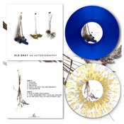 "Image of DK038: Old Gray - An Autobiography 12"" LP - Blue /100, White w/ Gold + Silver Splatter /200"