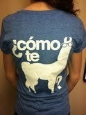 Image of New &quot;Como te Llama&quot; T-Shirt 