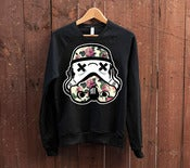 Image of Love Trooper Black Crew Neck Sweater
