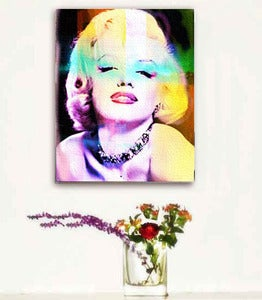 Image of ♥Retro Pop Art Canvas-Marilyn Monroe♥