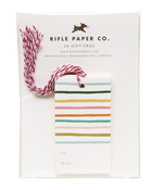 Image of Rifle Paper Happy Stripe Gift Tags