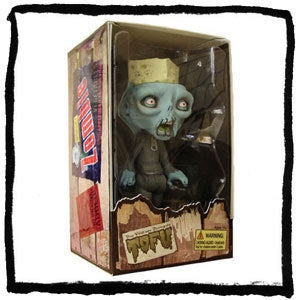 Image of Tofu the Vegan Zombie Vinyl Action Figure