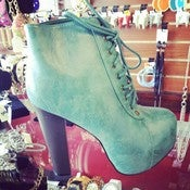 Image of Sea Green Booties 
