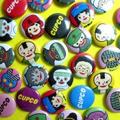 Image of CUPCO PIN BADGE FUN PACK!!!!