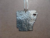 Image of Arkansas State Necklace