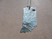 Image of Indiana State Necklace