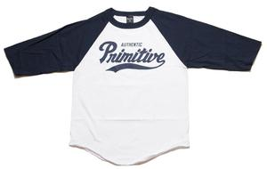 Image of Primitive - Dugout Raglan - Navy