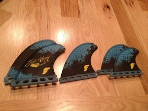 Image of Josh Mulcoy - 5-fin set - Futures Fins