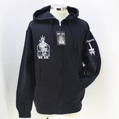 Image of BA.KU. x CHRIS MOYEN ZIPPER HOODY