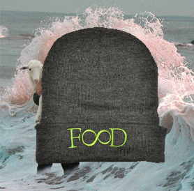 Image of gray FD beanie