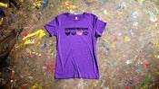 Image of American Babies 'Purple Ladies Beardie' Tee