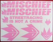 Image of Mischief Sticker Sheet - Regular Color