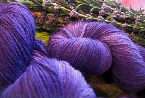 Image of Kettle Dyed Sock:  Grape Jelly