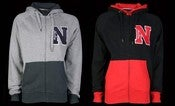 Image of New Era - Contrast - Style:NE92012M - Men's Zippered Sweatshirt