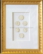 Image of In stock: special spring collection of framed intaglios, design as seen (4)