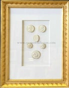Image of In stock: special spring collection of framed intaglios, design as seen (3)