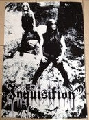 Image of INQUISITION - Band photo Flag