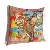 Image of Laura Oakes: Flight Paths Giant Floor Cushion