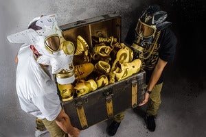 Image of 20x30 Print- GMP VI & VII Gas Masks