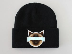 Image of Siamese Kitten AND.ALSO Beanie <em>New</em>
