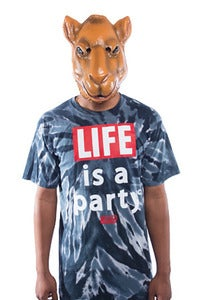 Image of Life is a Party Tee - Tie Dye