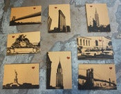 Image of NYC Lover's assorted set of 8 postcards