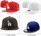 Image of New Era 5950 - Los Angeles Dodgers LA