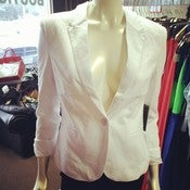 Image of White Blazer
