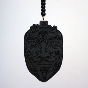 Image of Power Necklace Black